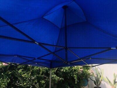 Gazebo Pieghevole 3X3 Richiudibile Con Sacca Tenda Tendone Mercato Fiera 6
