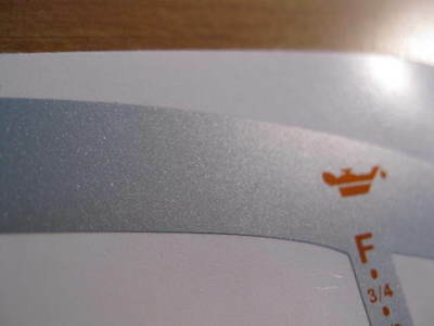POLARIS MFD DECAL W/O Trim SL SLT SLH SLX GAUGE MULTI FUNCTION DISPLAY  Overlay