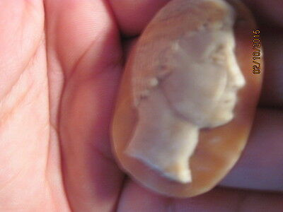 For the serious collector - Museum Quality Genuine Antique Roman Cameo 4