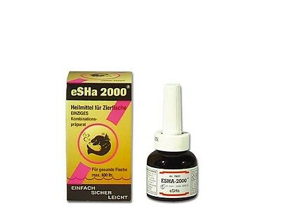 eSHa 2000 20 ml Allround Heilmittel für Fische im Aquarium und Teich