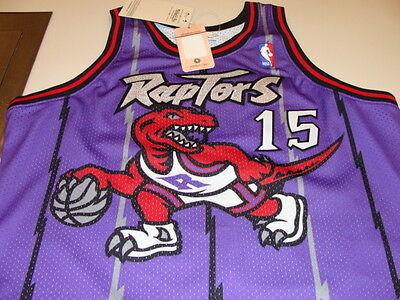 ... Vince Carter 1998-99 Jersey Toronto Raptors NBA Basketball XXL Mitchell  Ness 5 6391c0a36
