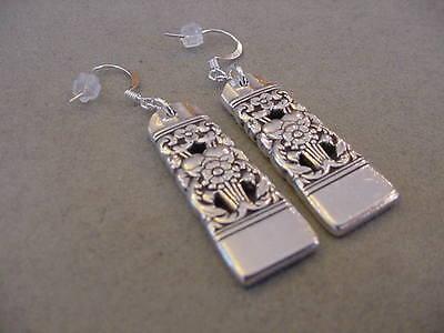 Spoon Earrings Vintage Oneida Community Artistry Silverware Plate Jewelry