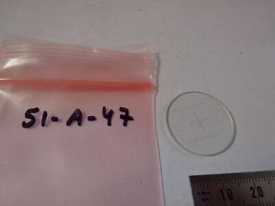 Crosshair Réticule Micromètre pour Oculaire Microscope Optiques Tel Quel 7