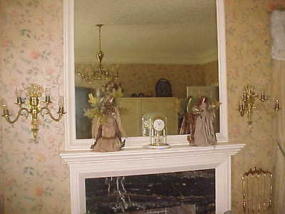 """Wall Sconces Antique 4 Light Rewired 19"""" High 19"""" Wide (Lot Of 2) 3"""