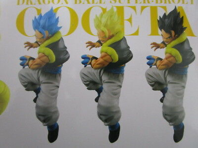 "Banpresto Dragonball Super Broly NAMCO Limited Figure /""SS Gogeta/"" Japan NEW B"