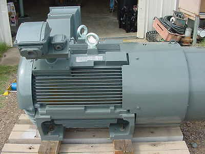... New Teco Westinghouse 250 HP Premium EFF Sevre Duty Electric Motor 2300/ 4160V