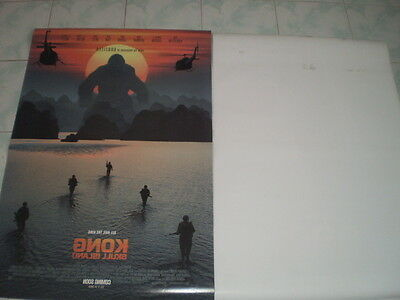 Kong Skull Movie Island Poster 27x40 Original Theater 2017 S D Sided Exclusive 11