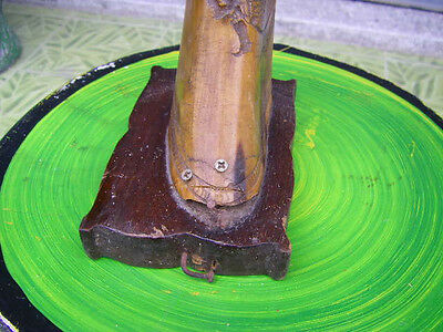 Wall Mounted Clothes Coat Hat Rack Hanging Hook Thai Buffalo Horn Rack Vintage 5