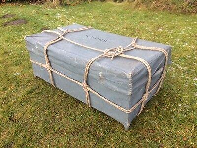 Vintage Sailors Trunk / Travelling Trunk 2