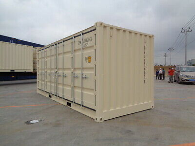Open Side (OS) - 20' New / One Trip Shipping Container in Atlanta, GA 8