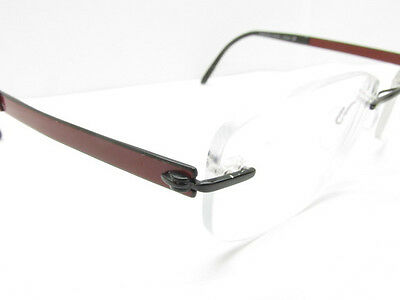 AUTHENTIC SILHOUETTE 7779 50 6059 Rimless Sport Eyeglasses FRAMES ...
