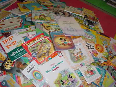 Lot of 10 Childrens Reading Bedtime-Story Time Kids BOOKS RANDOM MIX UNSORTED 12