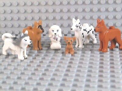 Shepherd Dalmation Husky Authentic LEGO Animal Dog Minifigures You Pick!