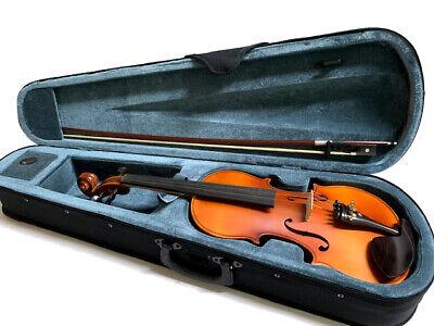 Violins-Bankruptcy-New 4/4 Adult Full Size Flame Maple Violin/Fiddle-German 3