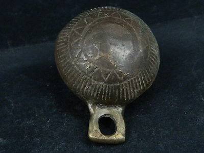 Ancient Bronze Bell Islamic 1700 AD #BR1564 3