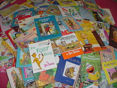 Lot of 10 Childrens Reading Bedtime-Story Time Kids BOOKS RANDOM MIX UNSORTED 9