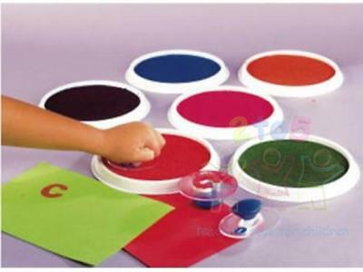 Giant Multi-Coloured Paint Pad - Hand Palm Stamping Printing 15cm