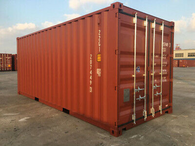 20' New Shipping Container / 20ft One Trip Shipping Container in Atlanta, GA 4