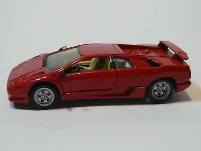 Detailcars Cdc 8015 Lamborghini Schwarz Diablo Druckgegossen Satz Neu Oza Spielzeugautos