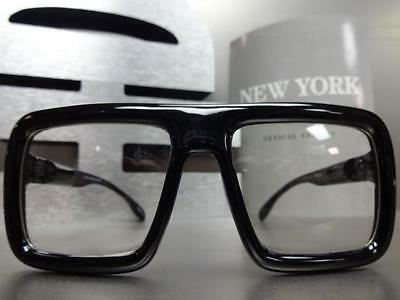 5a24a974868 ... LARGE OLD SCHOOL VINTAGE RETRO Style Clear Lens GLASSES FRAME Hipster  Nerd Smart 4