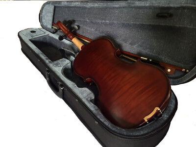 Violins-Bankruptcy-New 4/4 Adult Full Size Violin/fiddle Dark Maple-German 2