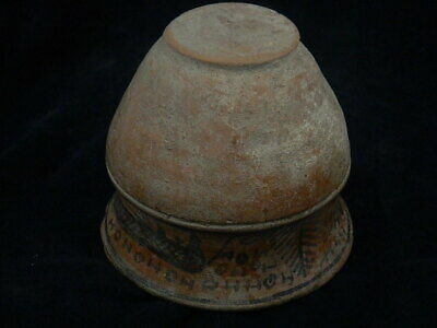 Ancient Large Size Teracotta Painted Pot With Lions Indus Valley 2500 BC #PT219 7