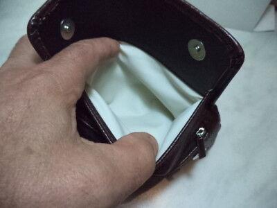 Borsa Portapipa Per 1 Pipa + Accessori  Atomic Bag Pipe  Similpelle Marrone  New 6