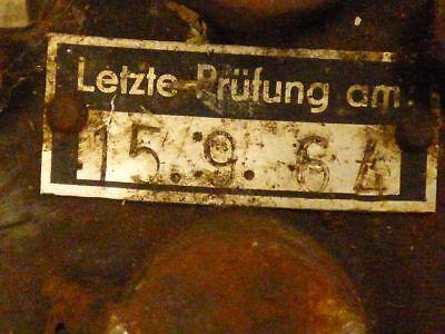 alter Kettenzug Hz 2 Ratschenzug Greifzug Hubzug Seilzug für Oldtimer Forst u.a. 7