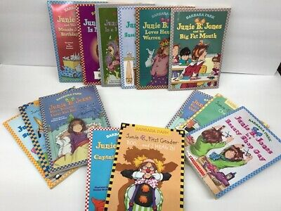 10 Pack Bundle Of Junie B Jones Home school Library Children's Chapter 2