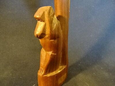 9 Of 12 Wood Wooden See No Evil Hear Speak Monkeys Hand Carved Statue
