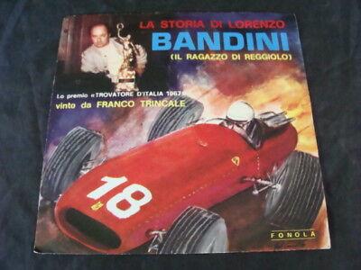 die Geschichte von Lorenzo Bandini auf Diskothek Pilot ferrari F1 GP trincale