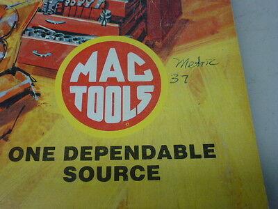 MAC TOOLS 1976 Hand Tools And Eguipment Catalog Mta-375 Cat  And Price List