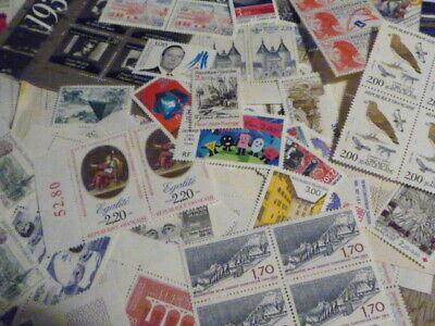 Lot FRANCE timbres neufs valeur FACIALE 160 € ! pour affranchissement permanent 6