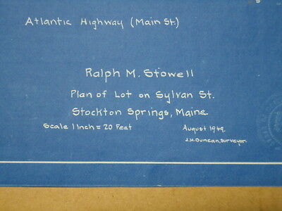 Orig emerson stevens co me axe ax business card stockton springs 3 of 11 orig emerson stevens co me axe ax business card stockton springs blueprint es3 malvernweather Gallery
