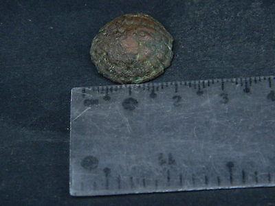 Ancient Bronze Lion Head Bactrian 300 BC  #SG5990 6