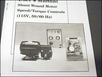 bodine ash-400 dc motor controller manual, wiring diagram, pin out &  parts