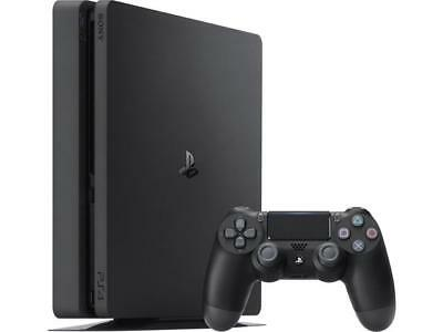 Sony PlayStation 4 (PS4) Slim 1tb Jet Black Console w/ accessories!  SHIPS FAST 2