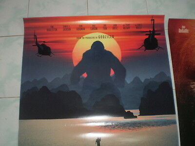 Kong Skull Movie Island Poster 27x40 Original Theater 2017 S D Sided Exclusive 5