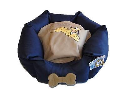 Disney Pampered Pluto Venus Katzenbett Hundebett Haustier-Bett Blau NEU! 2