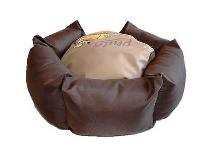 Disney Pampered Pluto Venus Katzenbett Hundebett Haustier-Bett Braun NEU!
