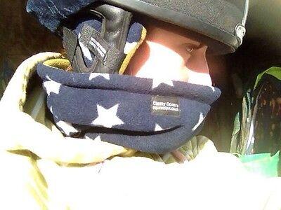 HARRIS TWEED Riding Hat Ear Muffs Pastel Tweed Backed SherpaFleece *Great gifts*