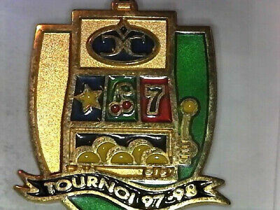 Rare Casino de Charlevoix  (1997-98 Tournament) Brass Lapel Pin 2