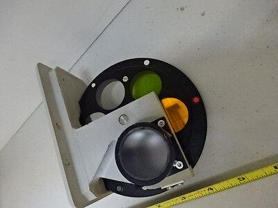 Microscope Pièce Reichert Polyvaer Leica Filtre Roue Optiques Tel Quel #V3-C-05 3