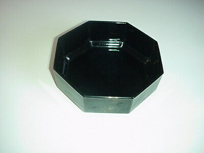 Arcoroc France Octime Black Cereal Soup Salad Bowl Octagon 3