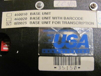 RTAS 460025 Dictation / Transcription Base Unit - USED - Great Condition