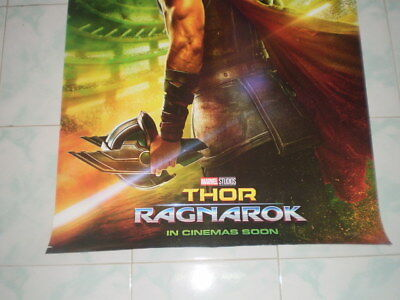 Movie Thor Ragnarok Poster Original Marvel 2017 27x40 Theater Ds S Sided 4