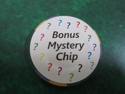 Free Mystery Las Vegas Bonus Poker Chip 5 Monte Carlo Poker Lounge Casino Newsbreathe Chips