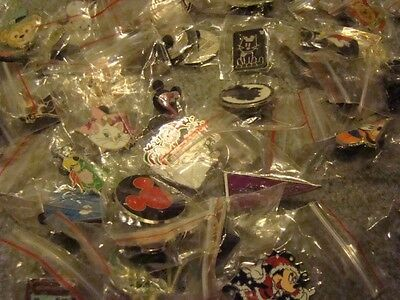 ~! 50 Mickey Disney Collectible Trading Pins Lot! 100% tradable HM LE CAST~! 2