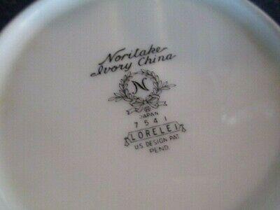 NORITAKE Vintage LORELEI 5 Pc  CEREAL / SOUP BOWLS Japan EXCELLENT 1965-1979 3