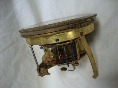 An Attractive 19Th Century, Japy Freres, Ormolu Mantel Clock. 6